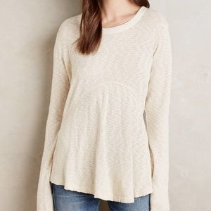Anthropologie Left of Center Dara Pullover Thermal